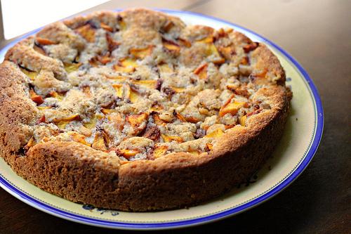 cake summer peach cake moist and sweet pea s kitchen summer peach cake ...