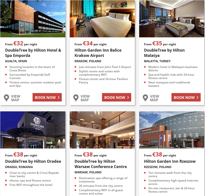 7 day flash sale promocja w hotelach Hilton