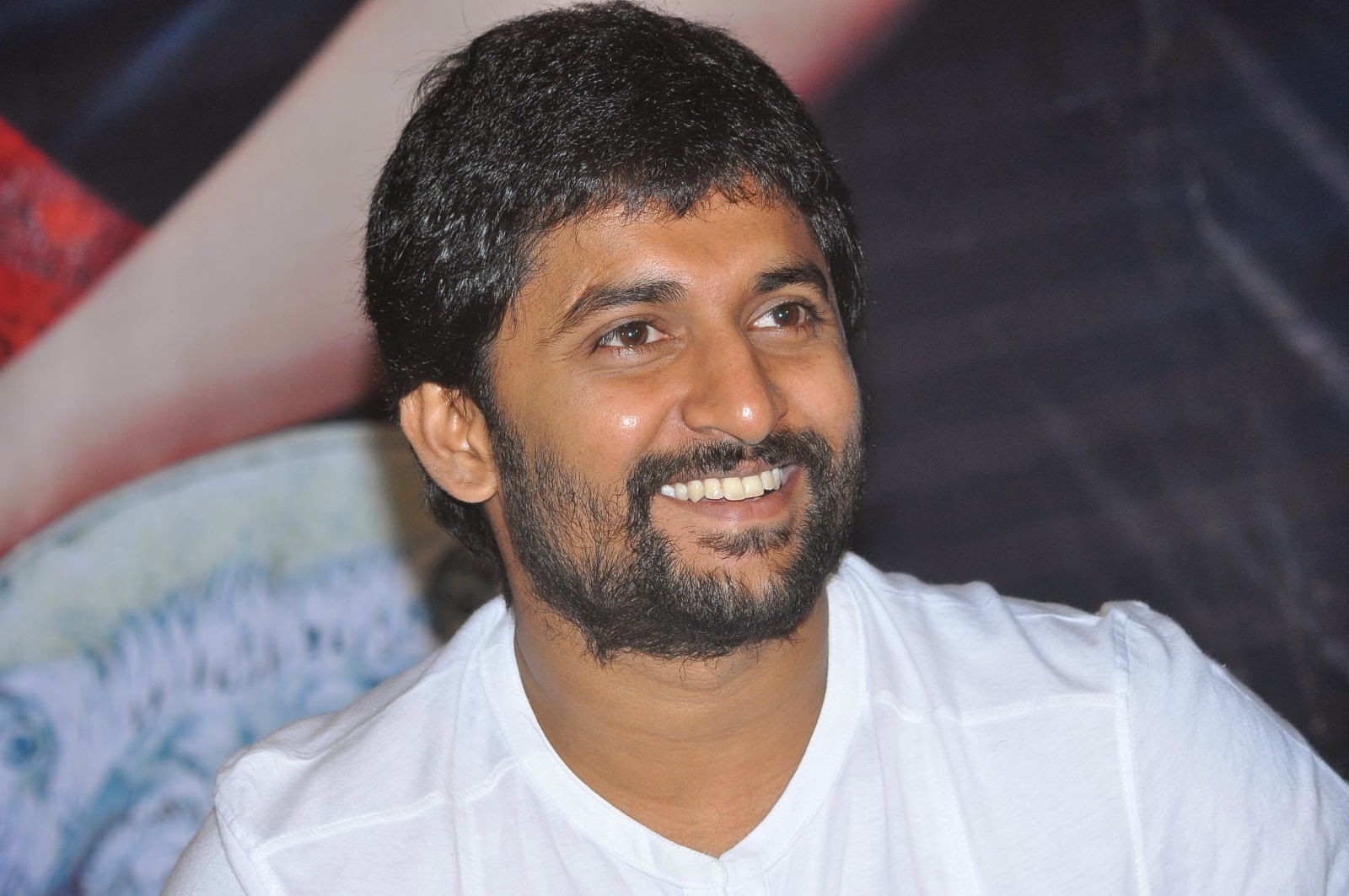 Actor Nani New Look Photos, Nani snapped at Aaha Kalyanam movie press ...