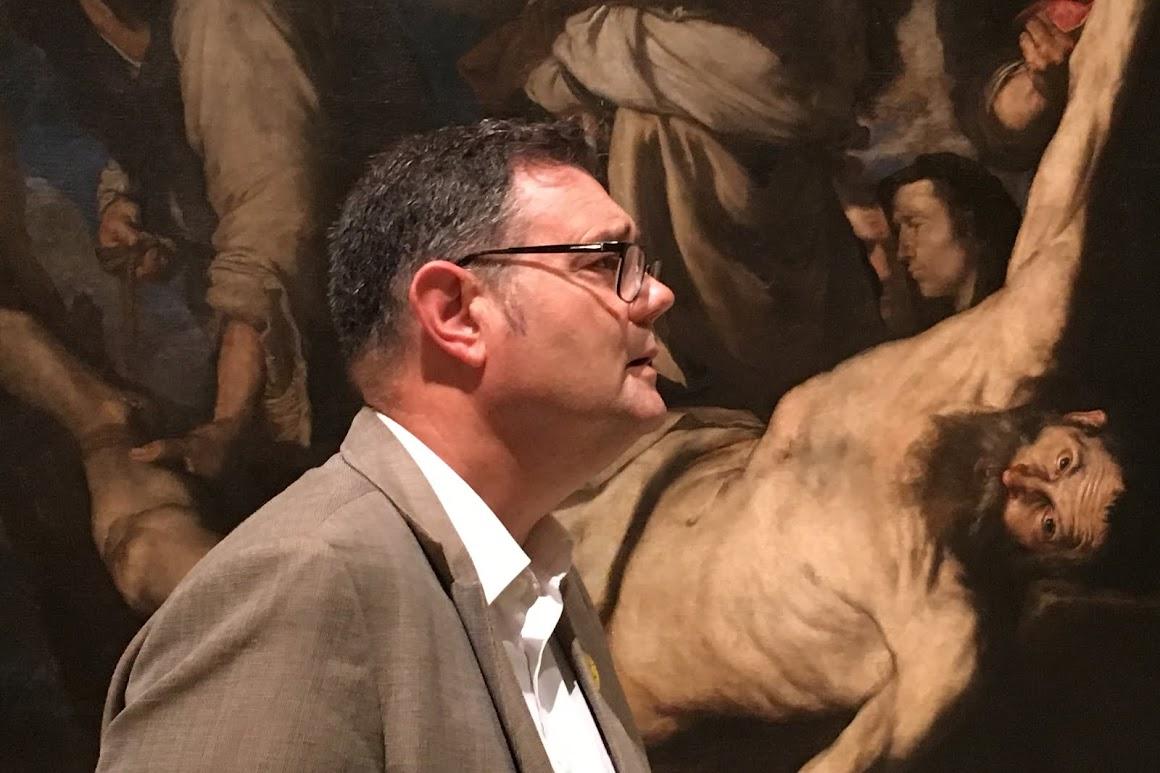 Un dermatólogo en el museo