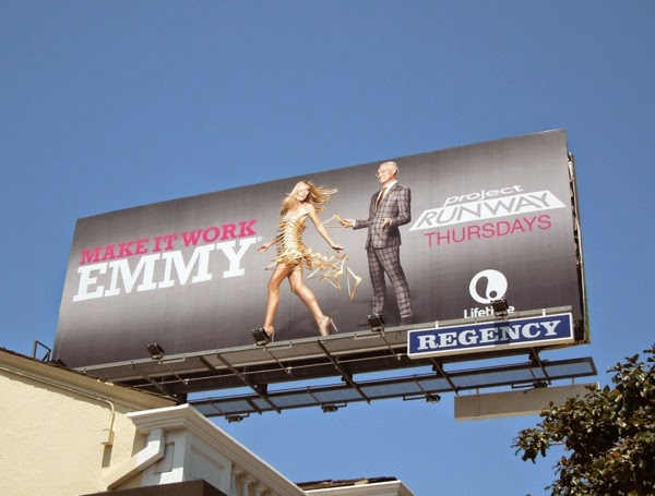 Project Runway Make It Work Emmy billboard