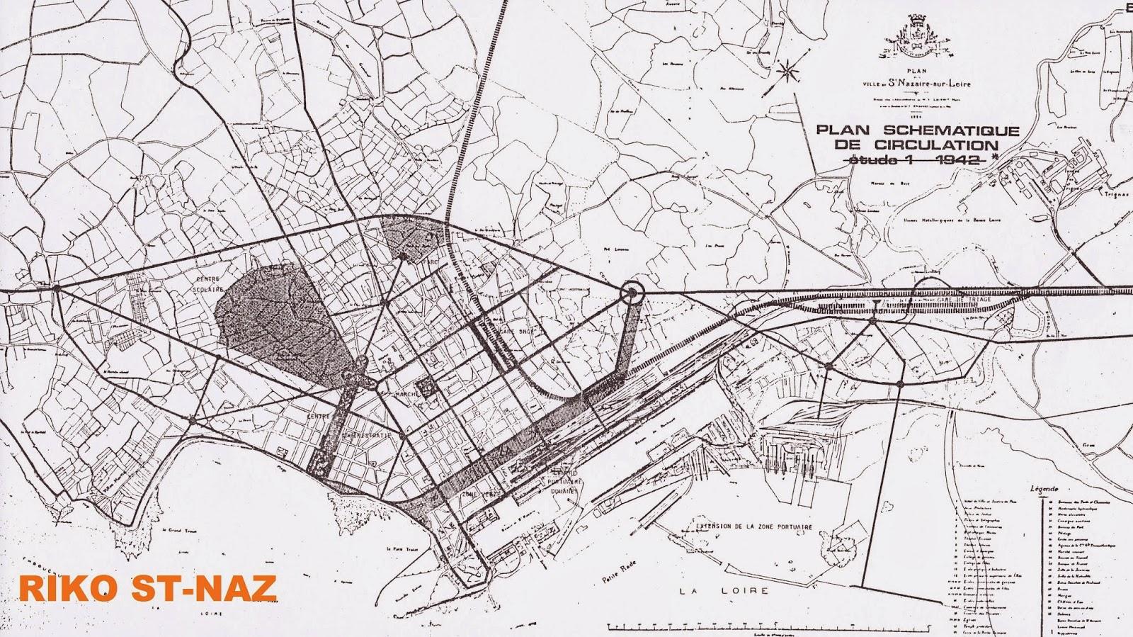 plans cue Saint-Nazaire