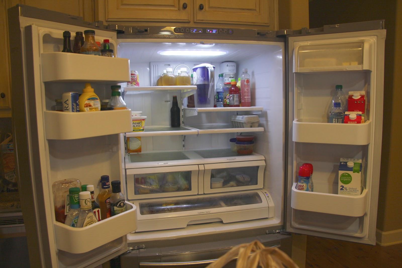 A Clean Organized Fridge Simply Organized