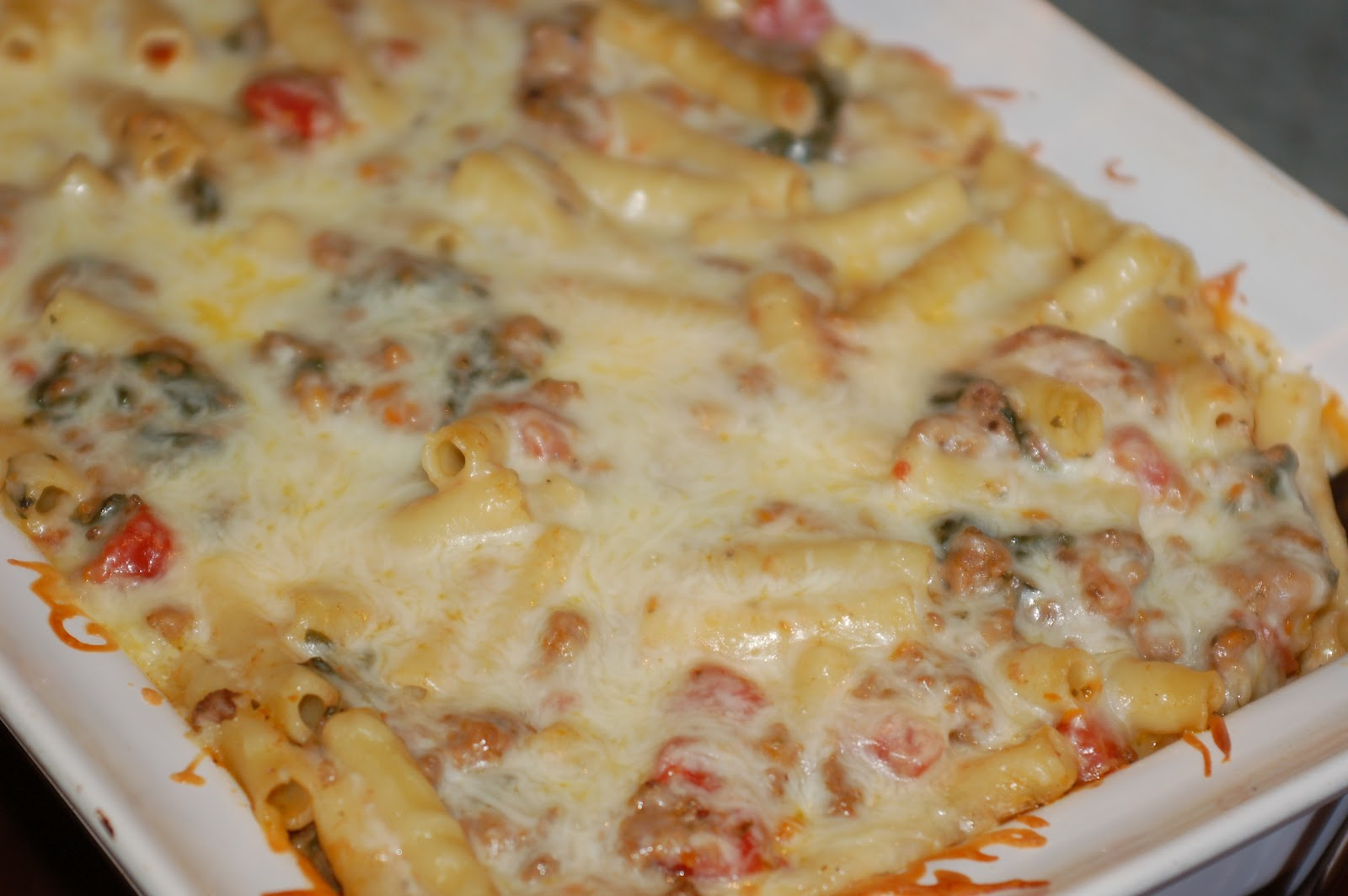 Let's Eat: Baked Ziti With Spinach