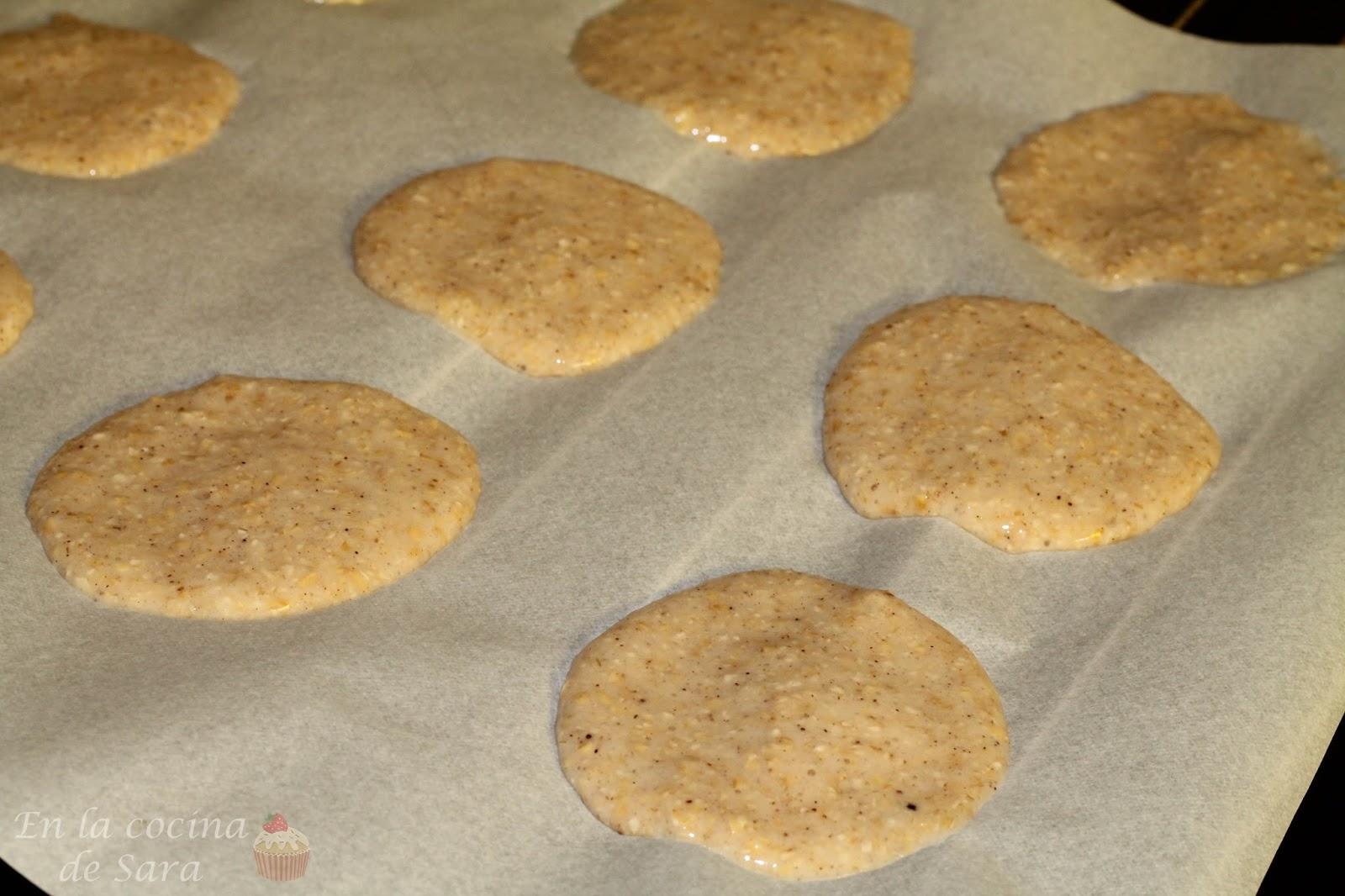 En la cocina de Sara: Galletas blandas de avena y canela