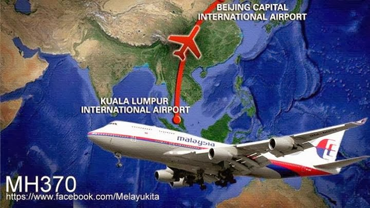 PRAYFORMH370 CNN RANCANG OPERASI FALSE FLAG MH370