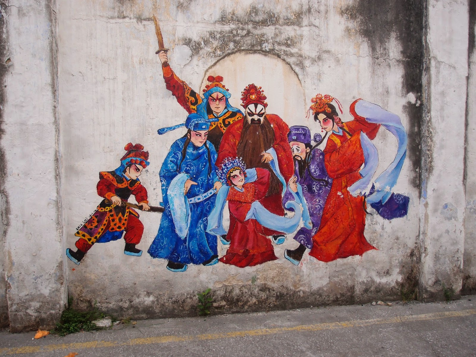 Xing fu ipoh wall art for 7 mural ipoh