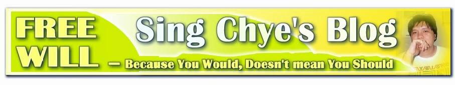 Sing Chye's Blog
