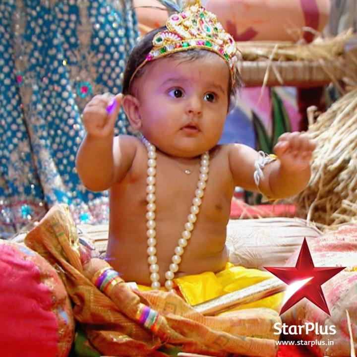 How to dress up your kid as Little Krishna?
