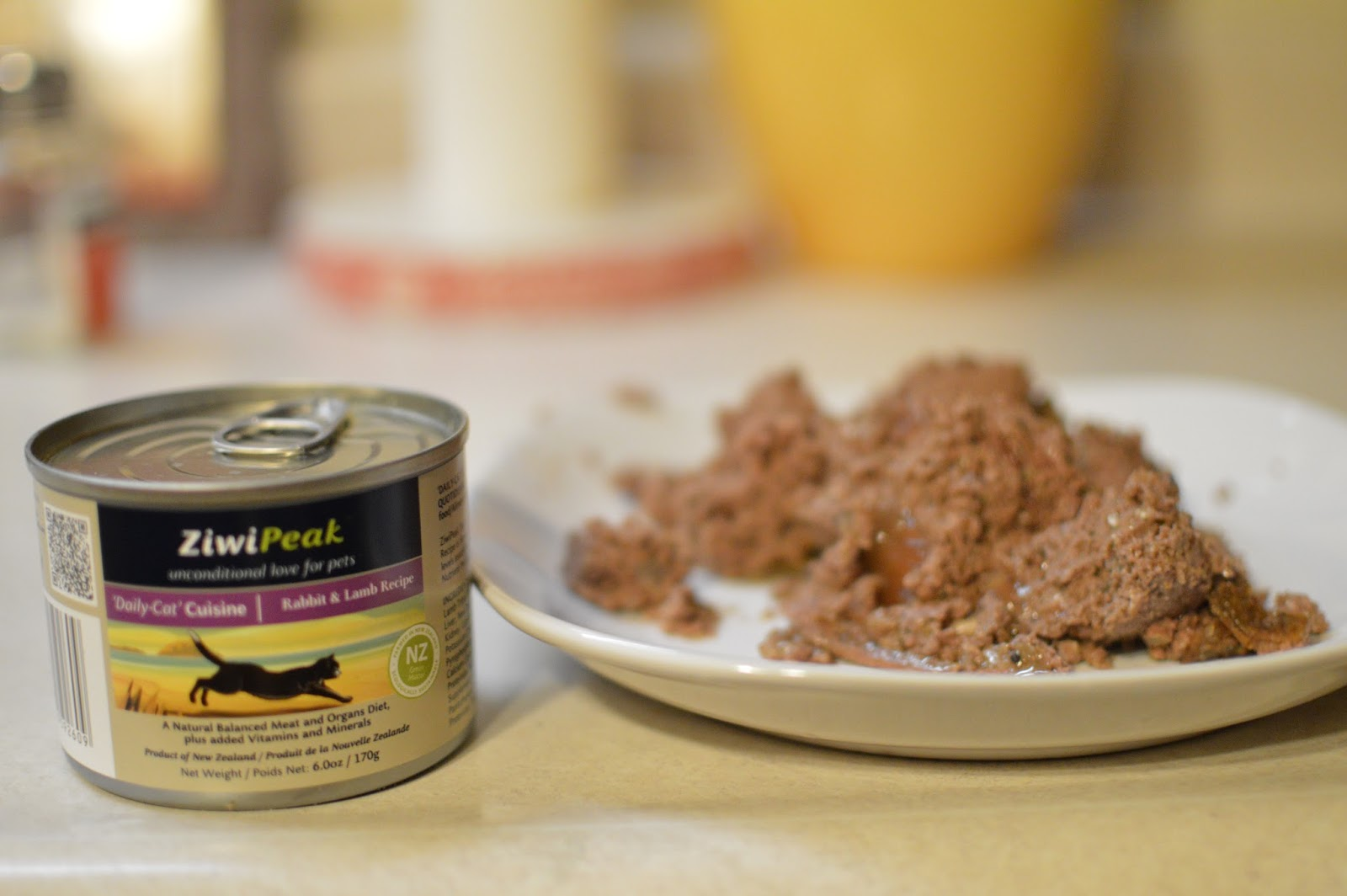 Ziwipeak Cat Food Ingredients