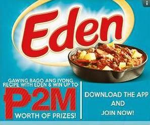 Eden Cheese 2014 Christmas Promo, win, promo, Philippines promo