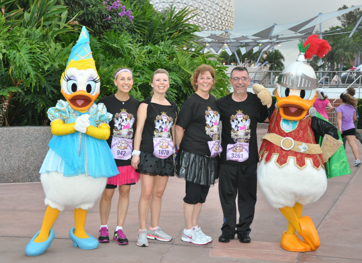midevil Daisy and Donald Duck