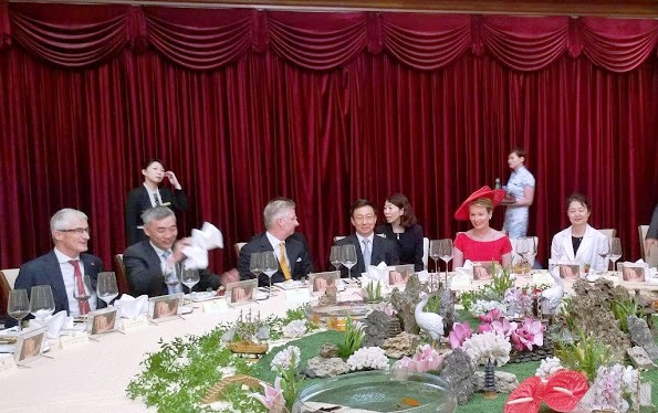 Queen Mathilde King Philippe's Visit To China, Day-6