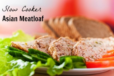 Crock Pot Asian Turkey Meatloaf