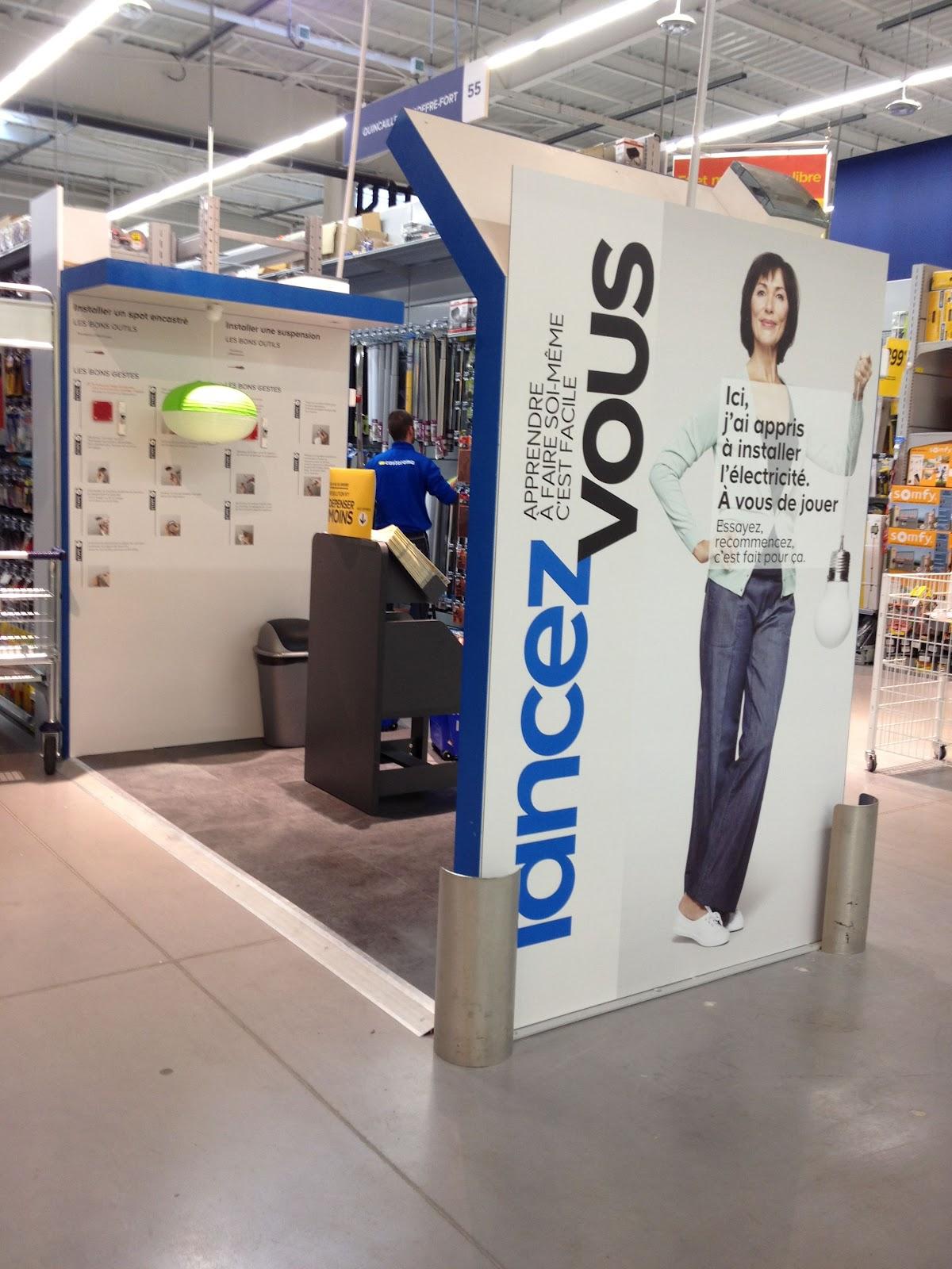 Shopper inside castorama villab un nouveau concept plus for Lancez vous castorama