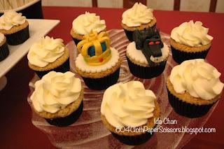 #Sherlock cupcakes by Cathy Wong SweeTease Cupcakes