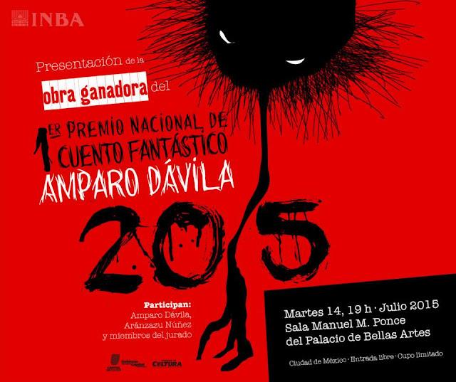 Ganador del Premio Nacional de Cuento Fantástico Amparo Dávila 2015