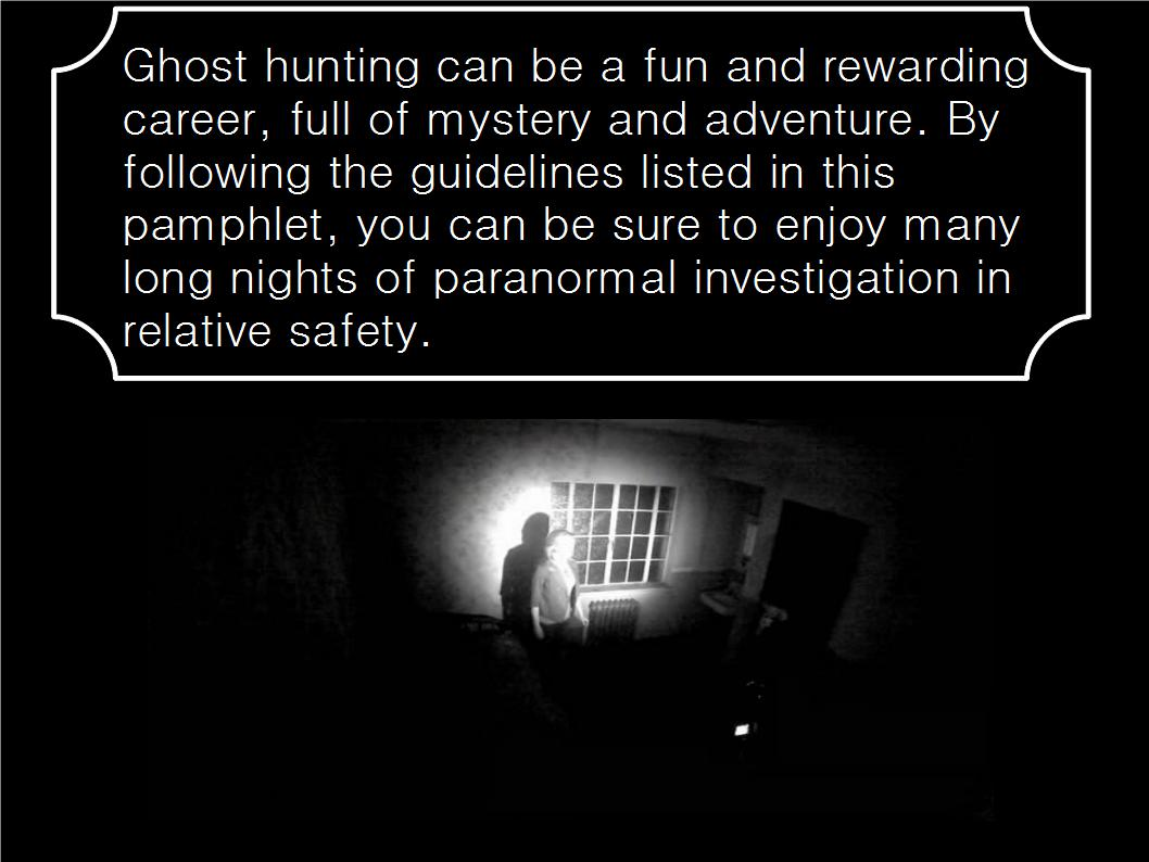 ghost hunting essay My first encounter with a ghost - your source for real ghost stories submit   find ghost hunters and paranormal investigators from georgia.