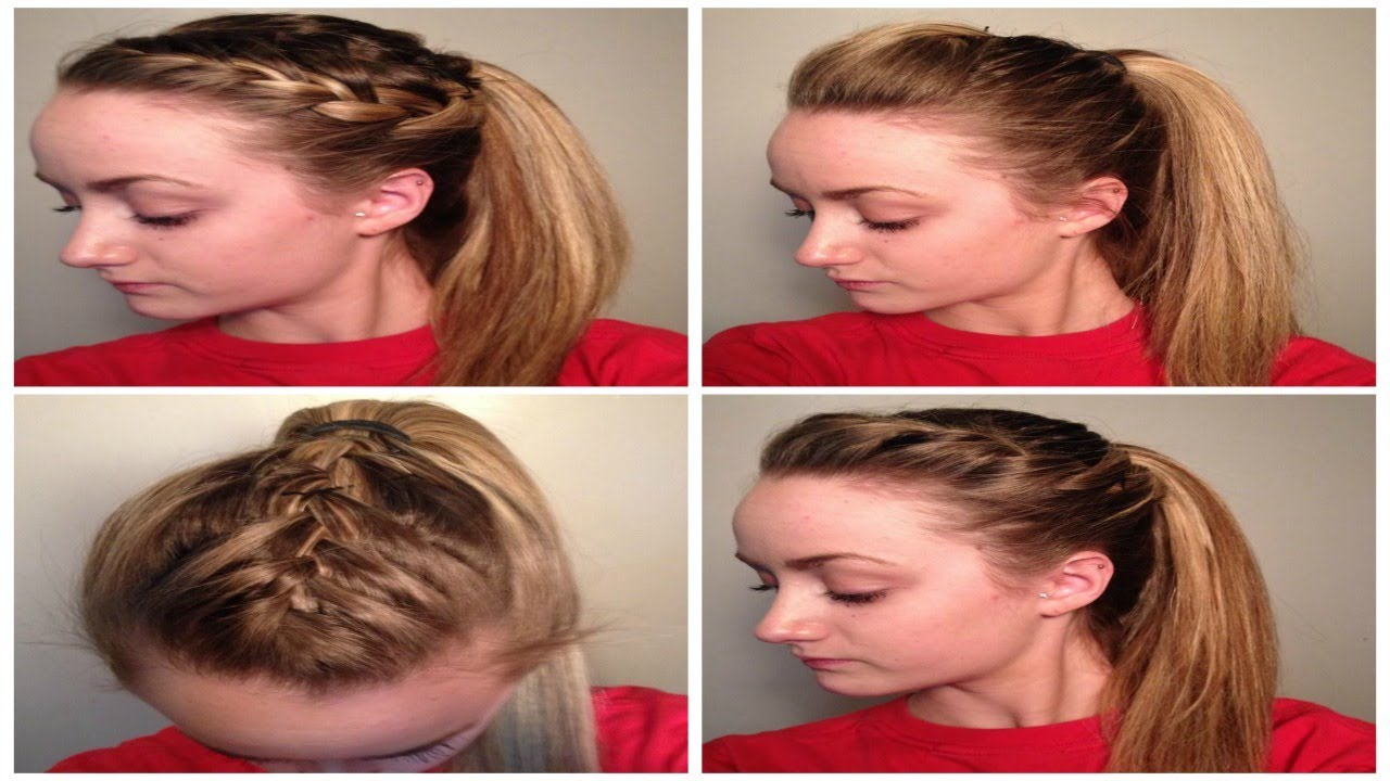 Cute Athletic Hairstyles Trends Hairstyle