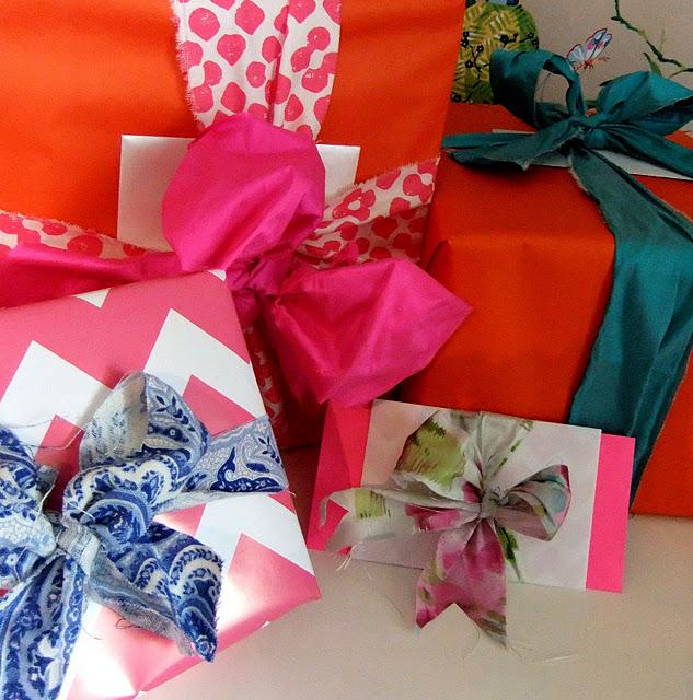 Как красиво оформлять подарки 762