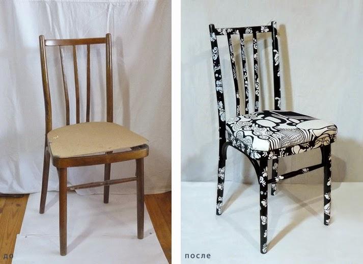 Идеи вашего дома: Как отреставрировать старые стулья?