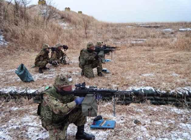 Gambar adu strategi dalam kejuaraan-menembak-militer-dunia