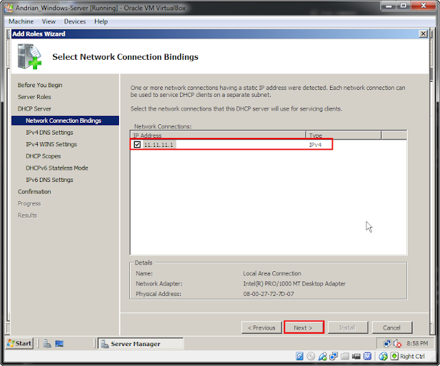 how to create dhcp server in windows server 2008