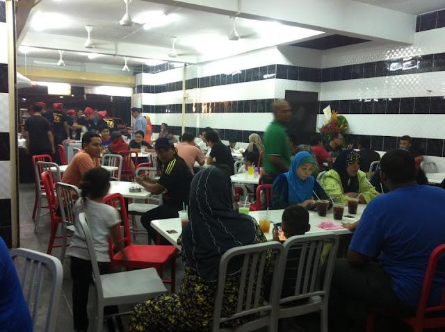 Burger Bakar, Abang Burn, Klang,