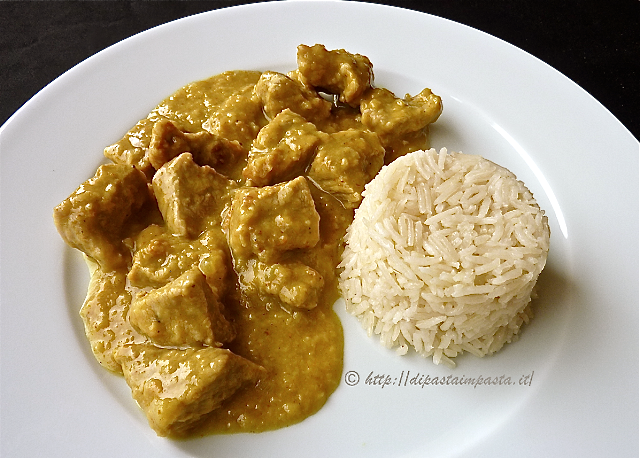 Super Di pasta impasta: Bocconcini di vitello al curry e riso pilaf IB43