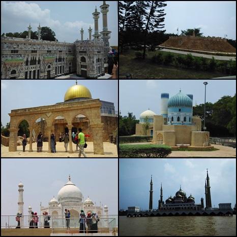 taman tamadun islam, tti, masjid kristal
