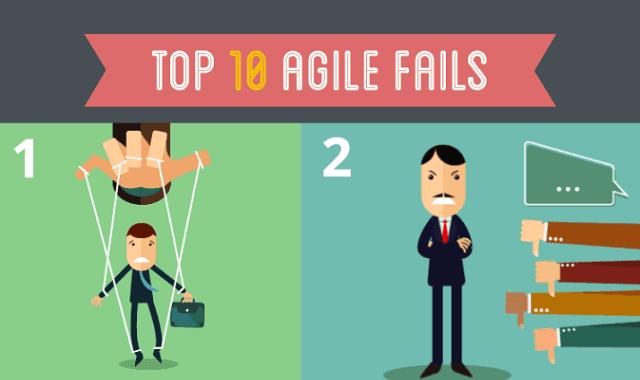 Image: Top 10 Agile Fails