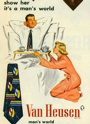 Vintage Sexist Van Hesen Ad