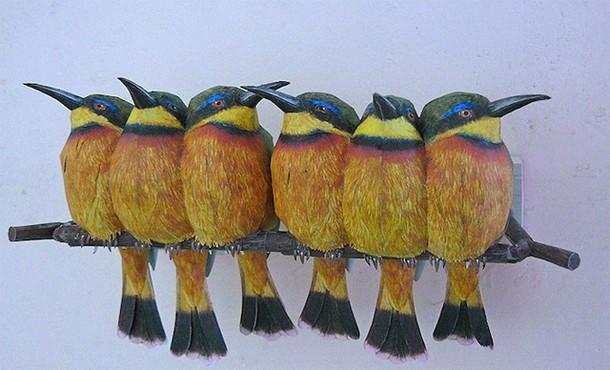 Papercraft Birds