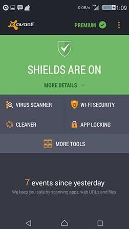 avast mobile security premium Apk