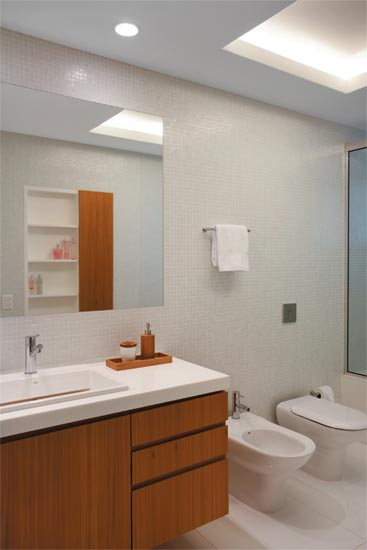 Reforma reforma Banheiros inspiradores -> Banheiros Modernos Pisos