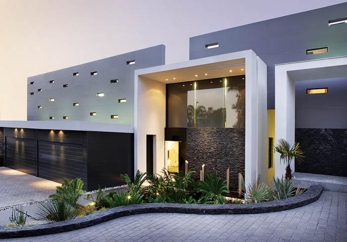 Casas minimalistas y modernas frente minimalista for Casa minimalista blog