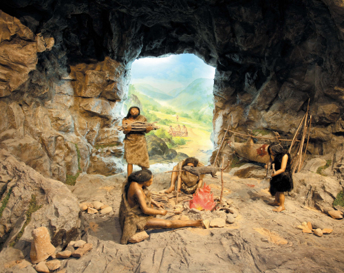The gallery for --> Paleolithic Era Houses