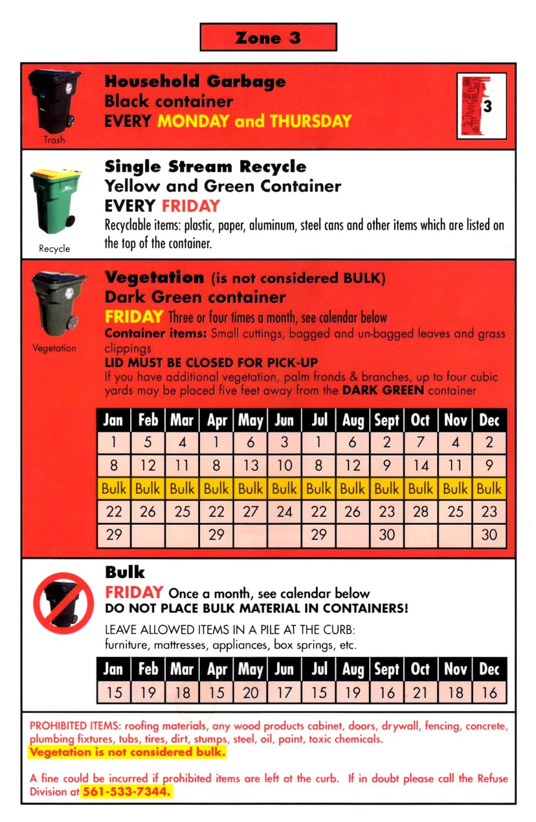 For More Information On Schedules Recycling Refuse Pickup Etc. Use This  Link To The Cityu0027s Public Services Dept. Sc 1 St Wes Blackmanu0027s  City Of Lake ...