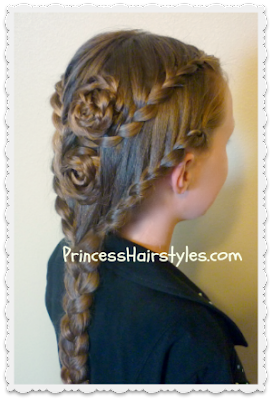 Lace Braids and Rose Braids