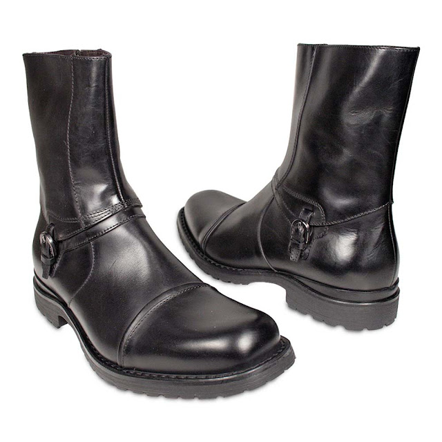Mens Boots Zipper1