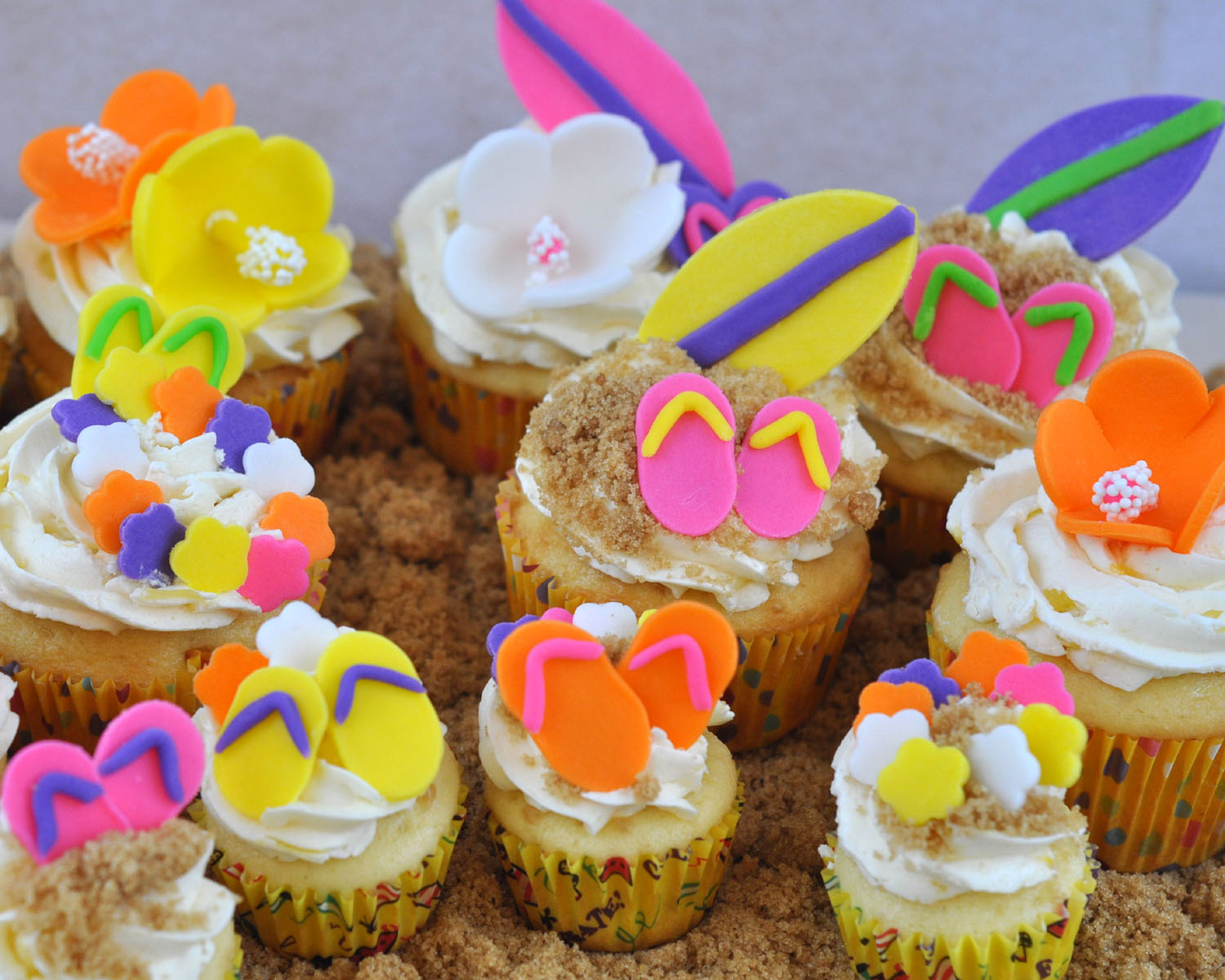 Tween Girl Birthday Party: Animal Print Cupcakes
