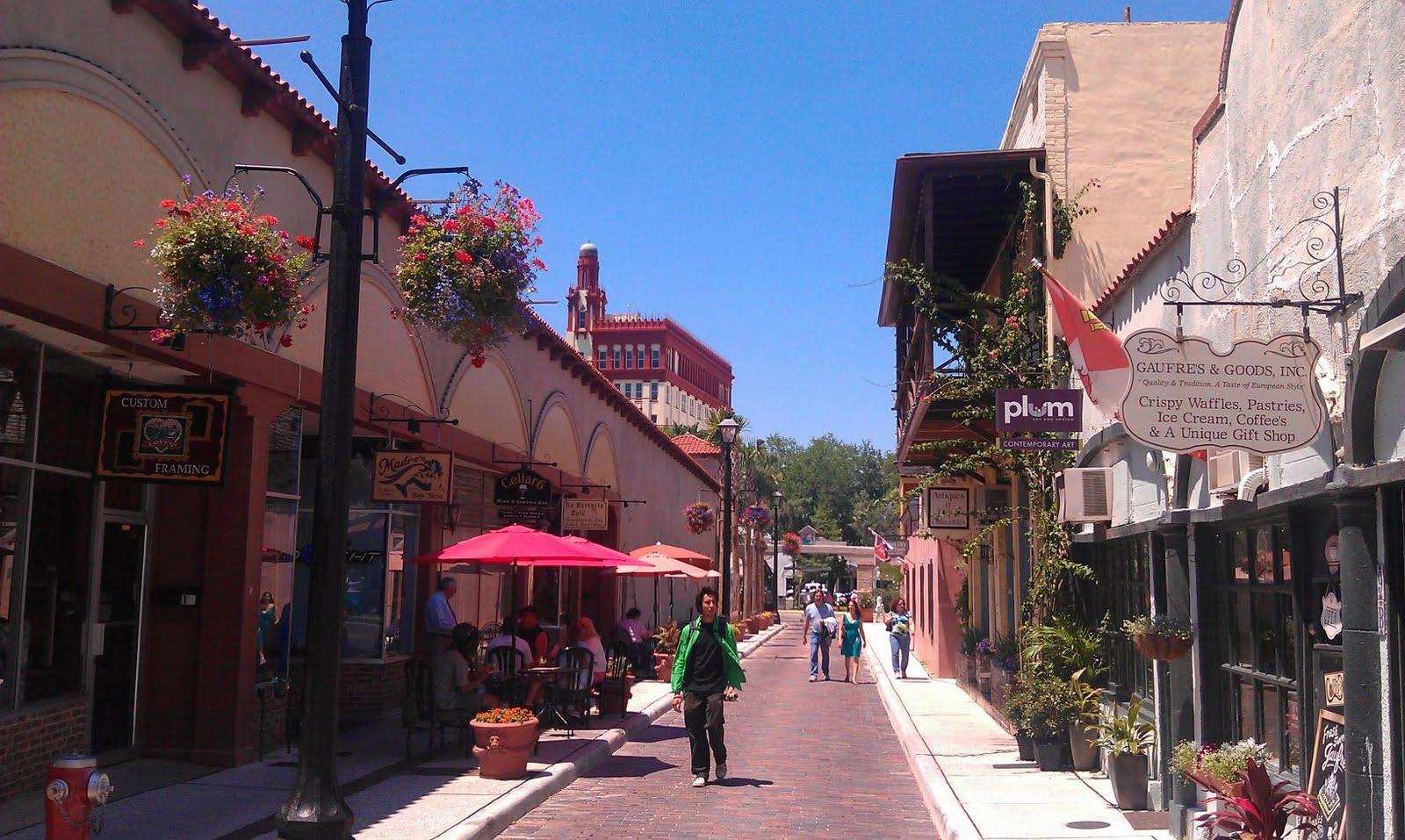 Good Day Sunshine Old Florida Village : Rvburg community in motion st augustine fl day trip