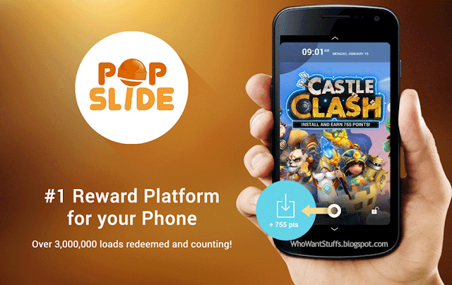 PopSlide Review - Get Free Mobile Load