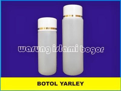Botol HDPE Yarle 100 ml untuk Lotion, Kosmetik, Cream, minyak Urut dll
