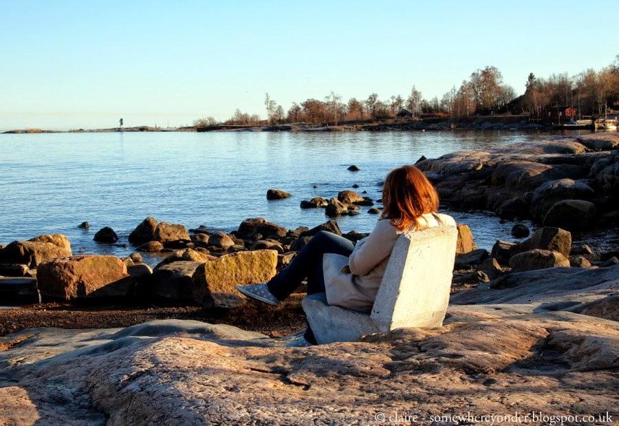 Relaxing - Helsinki water front
