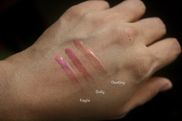 BUXOM Don't Miss a Beat Kayla Dolly Destiny Swatch
