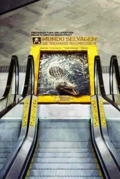 Advertising from National Geographic