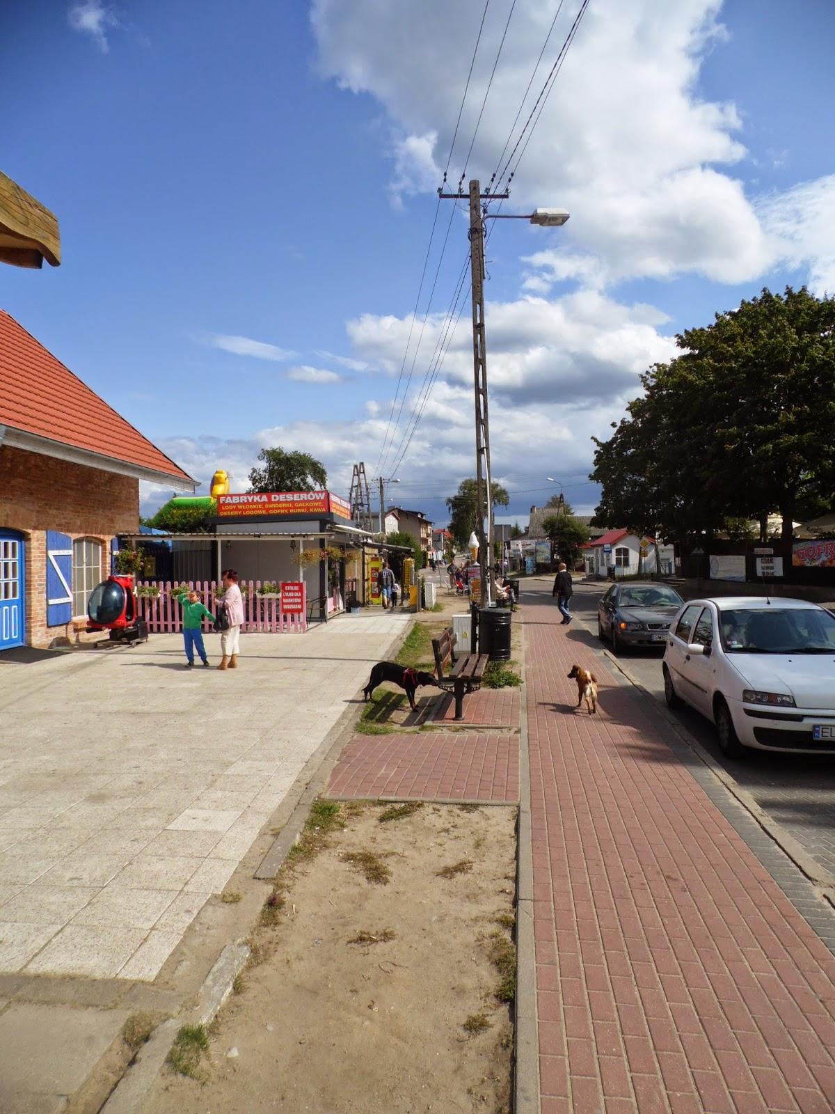 Centrum Ostrowa koło Karwi