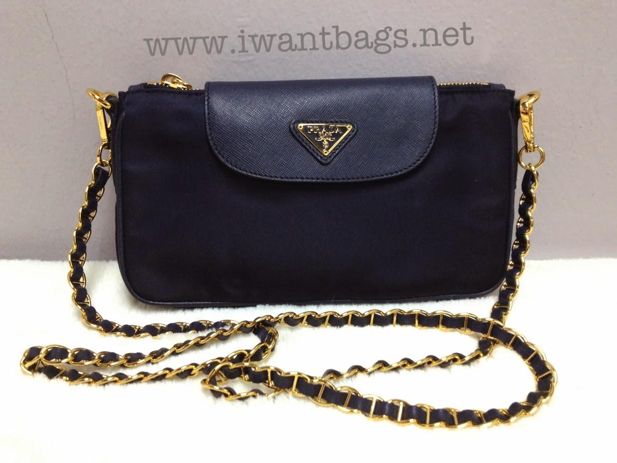 ... authentic prada nylon tessuto saffiano clutch sling bag bt0779 b0ff8  080df aead80611c281