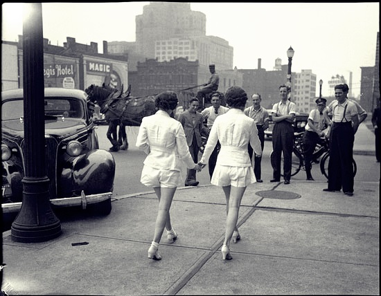 Flash From The Past: The First Time Women Wore Shorts in Public